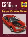 Haynes Workshop Manual Ford Mondeo Petrol & Diesel (July 03-07) 03 to 56